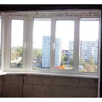Остекление лоджии - окна пвх, заказать или купить в баранови.