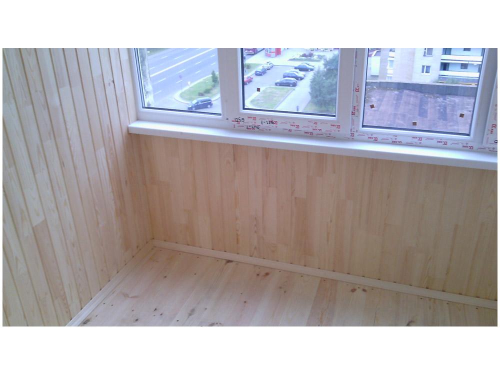 """Отделка балконного помещения """"под ключ"""": от 38,00 руб. - бал."""
