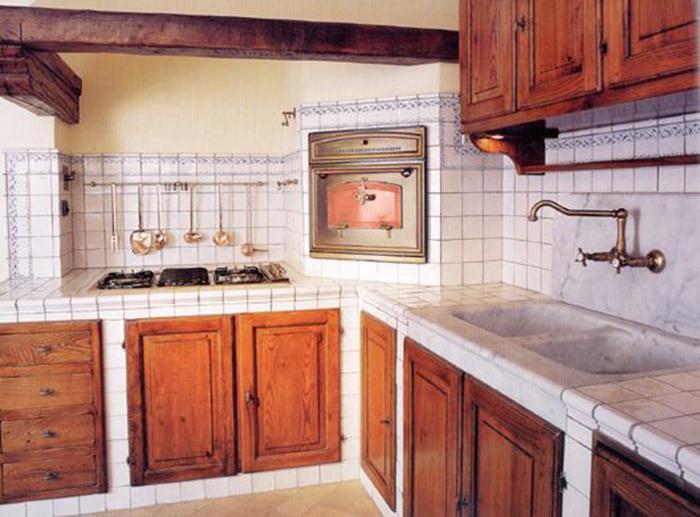 Кухонная мебель из плитки своими руками 54